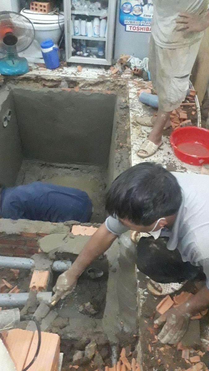 Đào hầm cầu mới