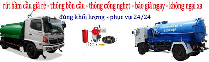 Hút hầm cầu đường Nguyễn Văn Nghi